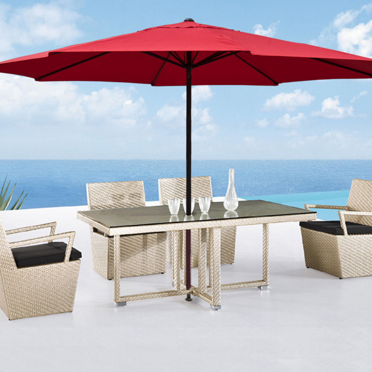 outdoor delightful patiompressive and covers umbrella parts furniture ft market rectangular patio