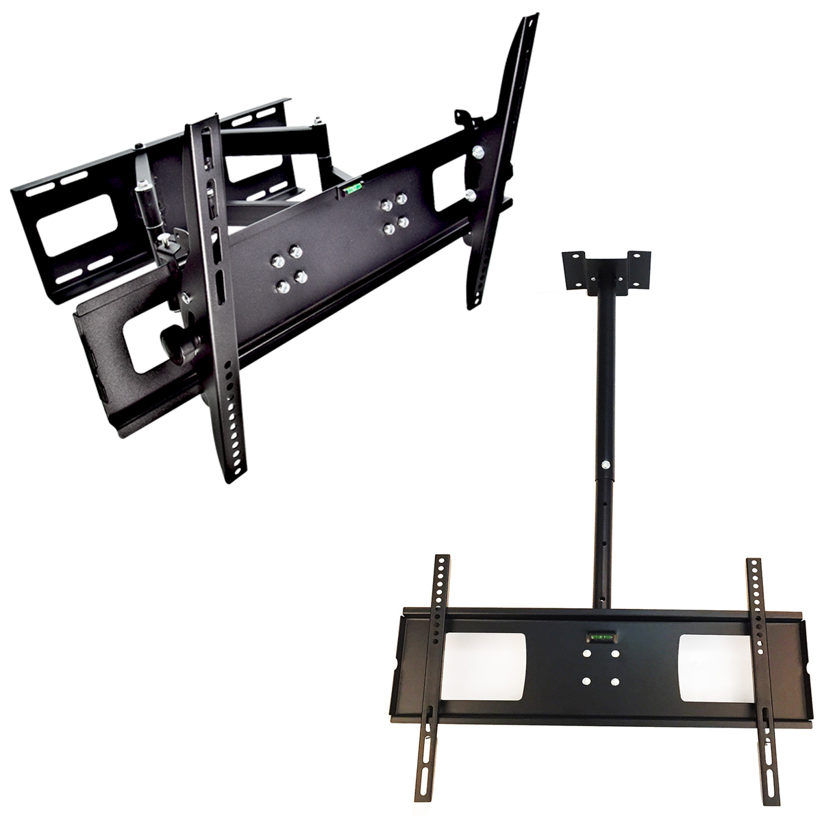 "Lcd Ceiling Mount: TV Wall Mount Ceiling + Swivel 32 37 42 46 50 52 60"" LCD"