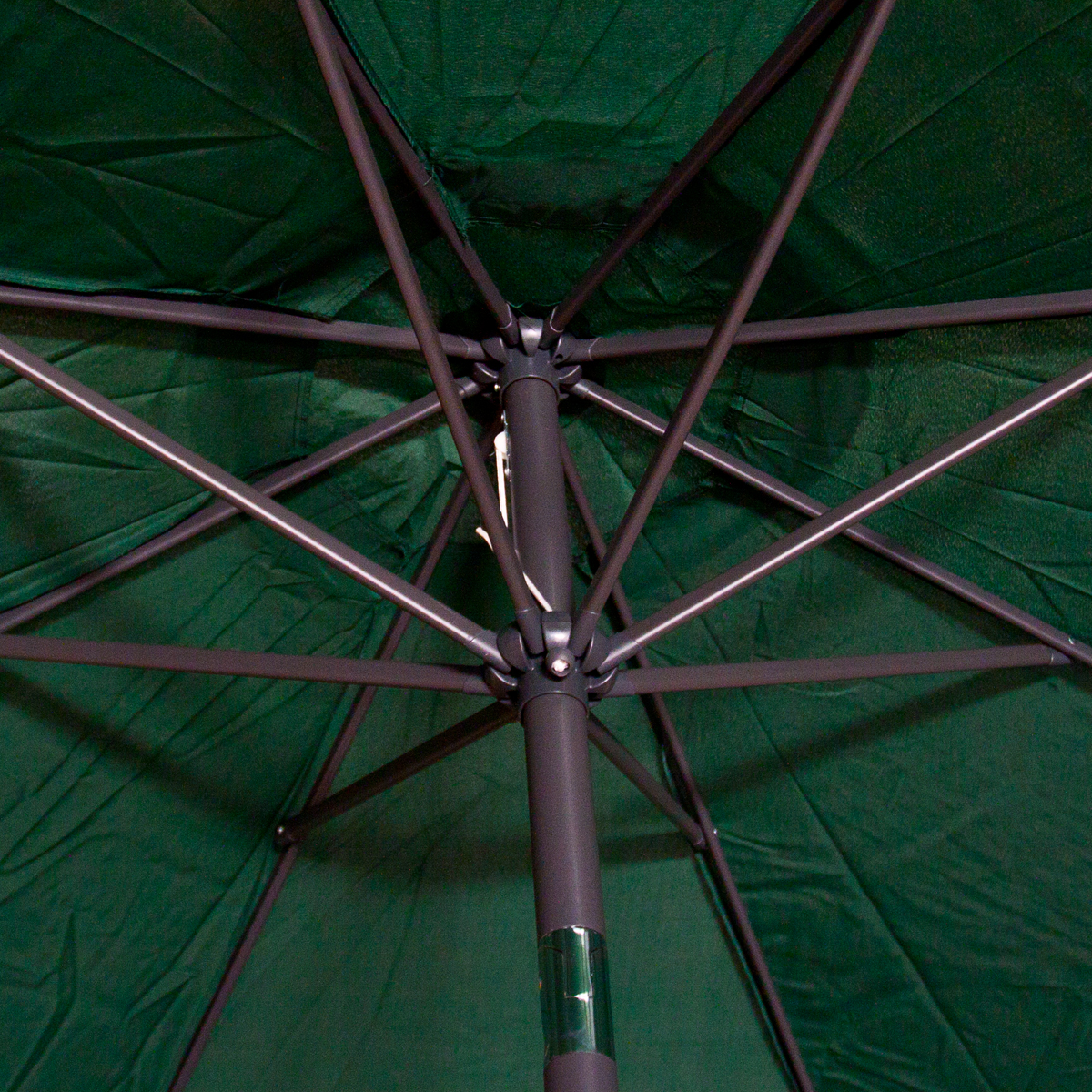 Patio Umbrella Replacement Canopy: Replacement Cover Canopy 9 FT 8 Ribs Umbrella Green Top