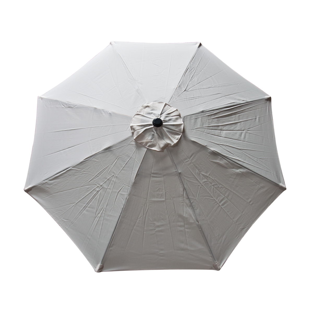 New umbrella replacement cover canopy 9 ft feet 8 ribs top for Canopy umbrella