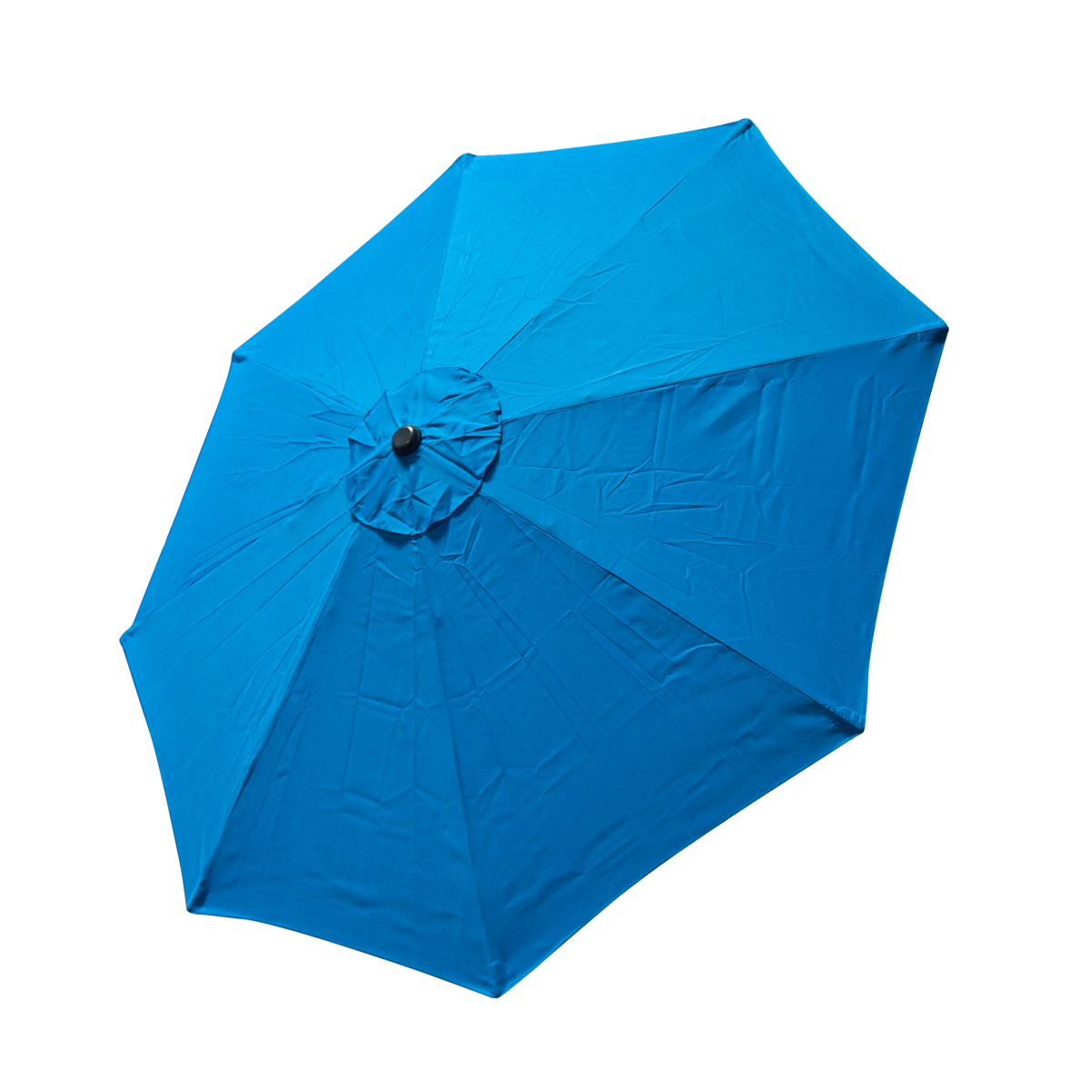 Patio Umbrella Replacement Canopy: Replacement Cover Canopy 9 FT 8 Ribs Umbrella Blue Top