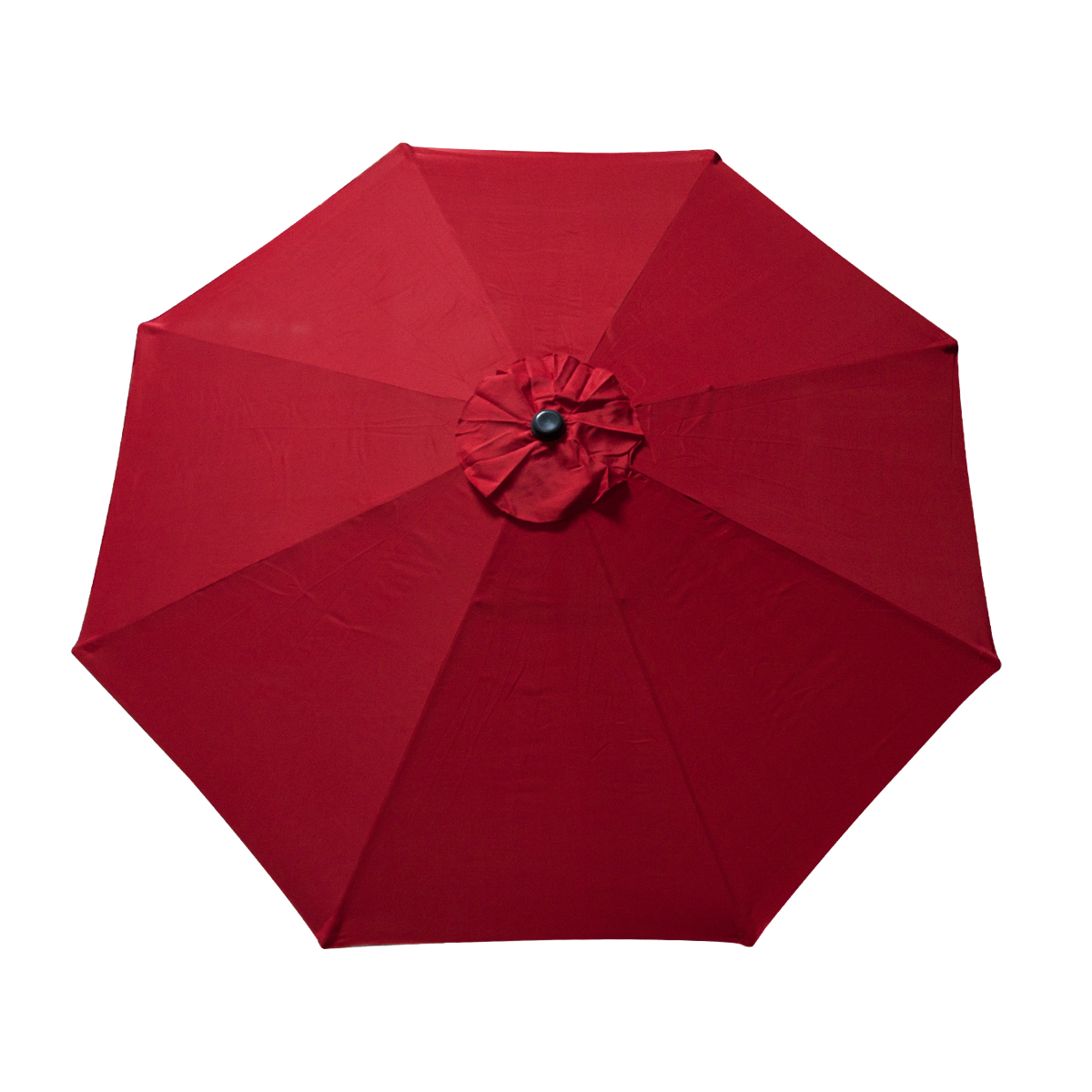 Patio Umbrella Replacement Canopy: 9 FT 8 Ribs Replacement Umbrella Cover Canopy Red Top