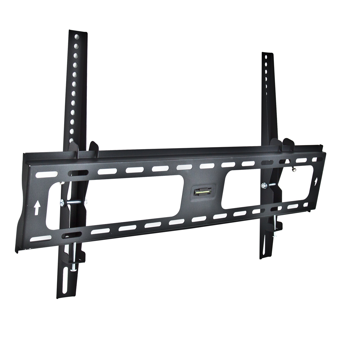 2 universal tilt tv wall mount flat screen bracket 30 60 lcd led plasma hdtv ebay. Black Bedroom Furniture Sets. Home Design Ideas