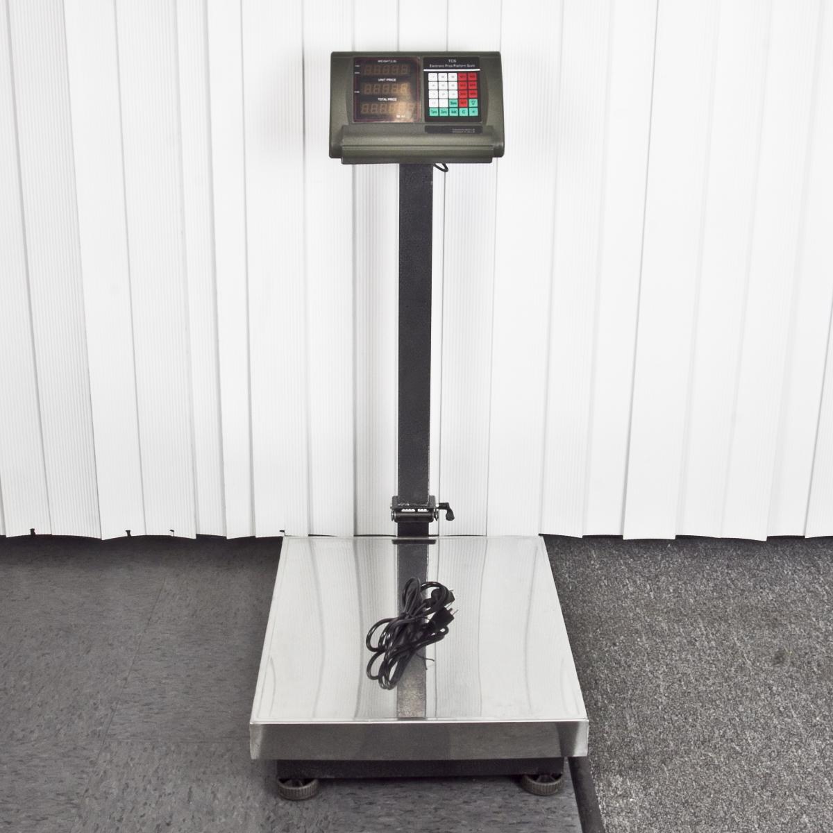 New 600lb weight computer scale digital floor platform for Scale floor