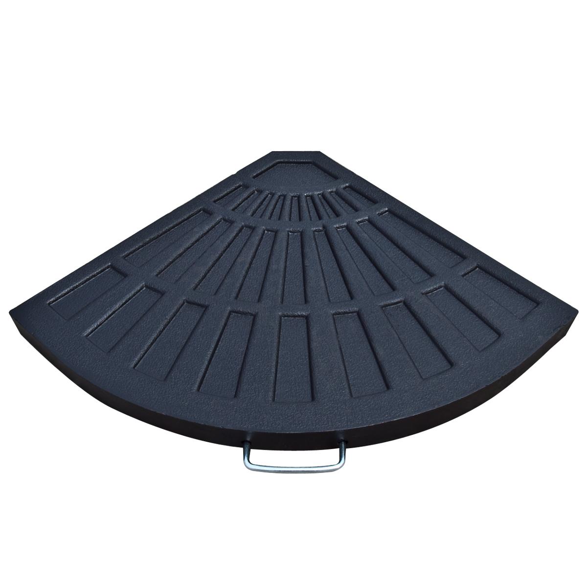 Patio Umbrella Alternative: Patio Umbrella Stand Vintage Finish Outdoor Table Pole 30