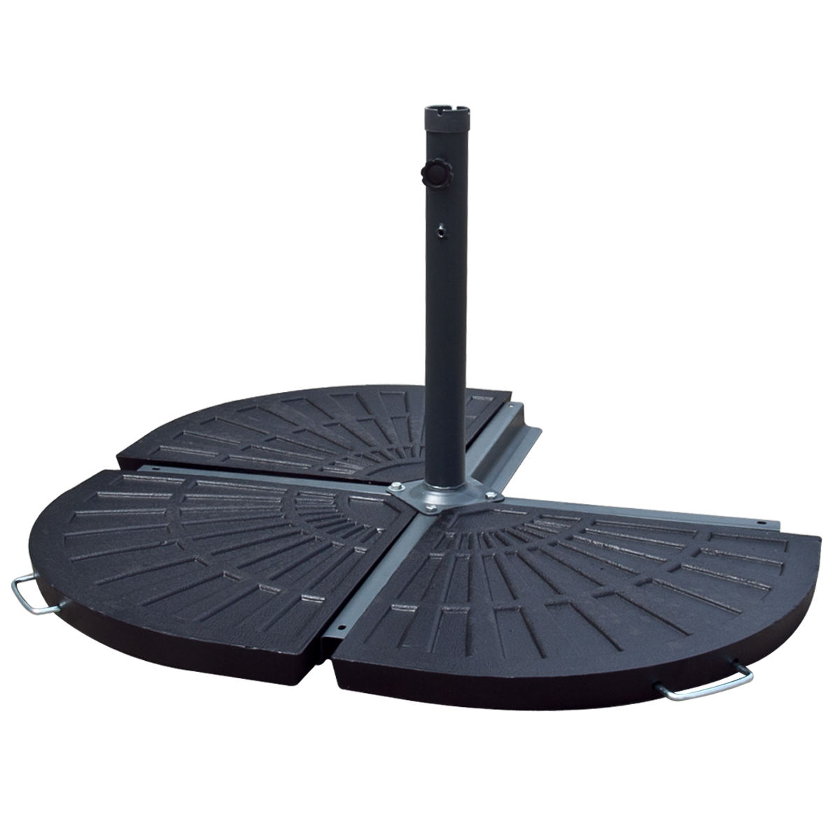 Patio Umbrella With Base: Patio Umbrella Stand Vintage Finish Outdoor Table Pole 30