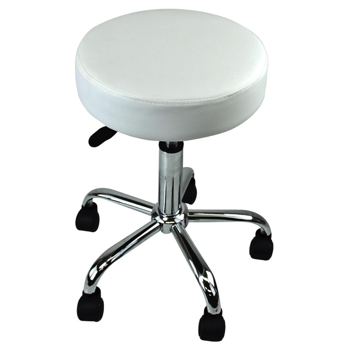 New White Salon Spa Tattoo Stool Equipment Medical Chair