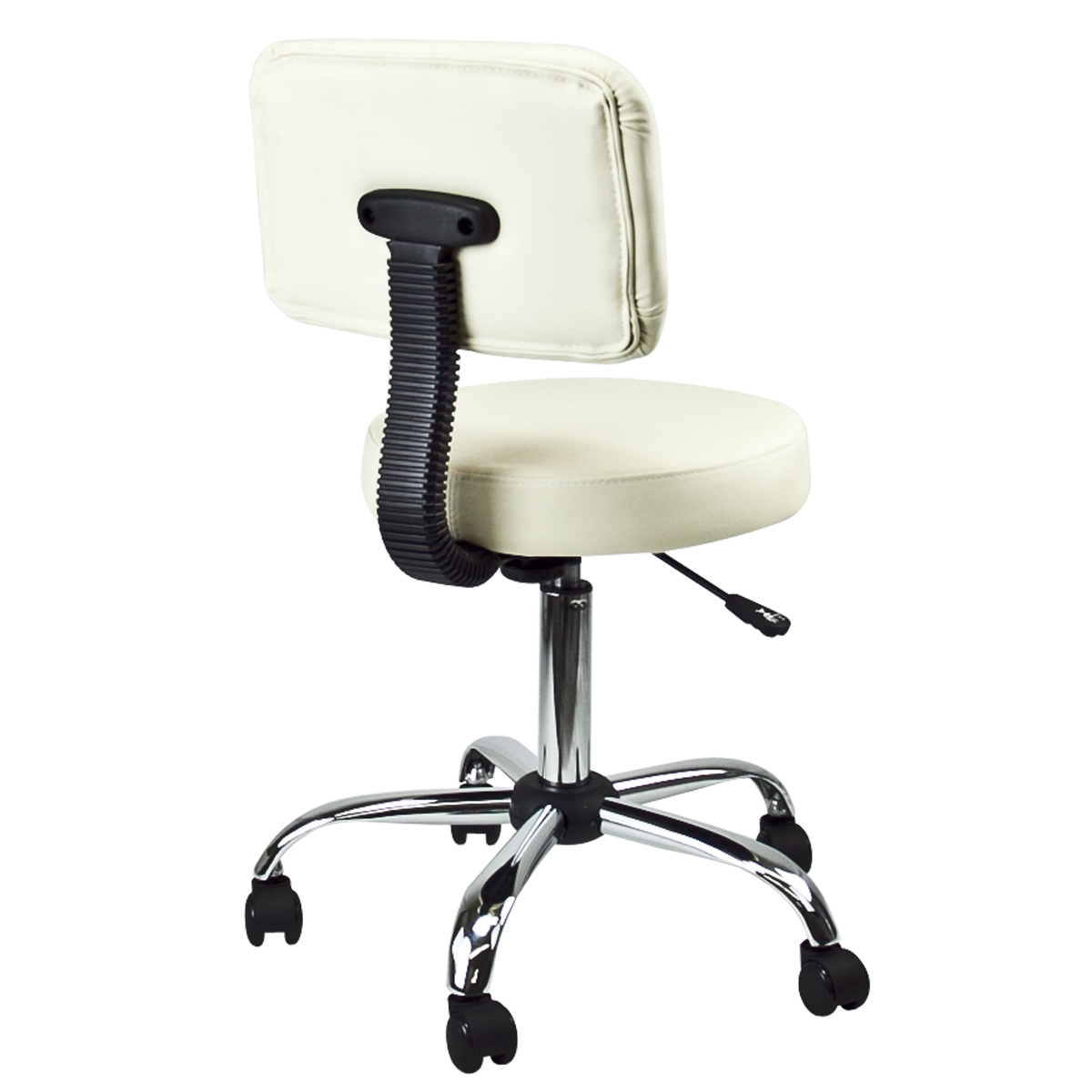 doctor dental medical salon stool with back cushion tattoo office