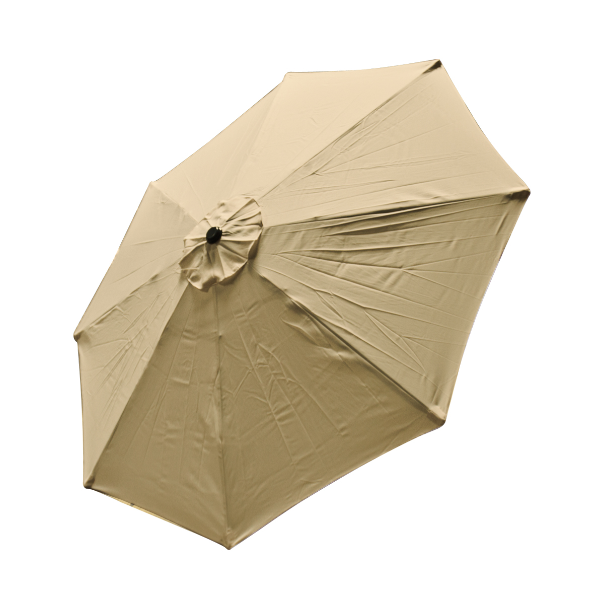 Patio Market Outdoor 9 FT 8 Ribs Umbrella Cover Canopy Tan