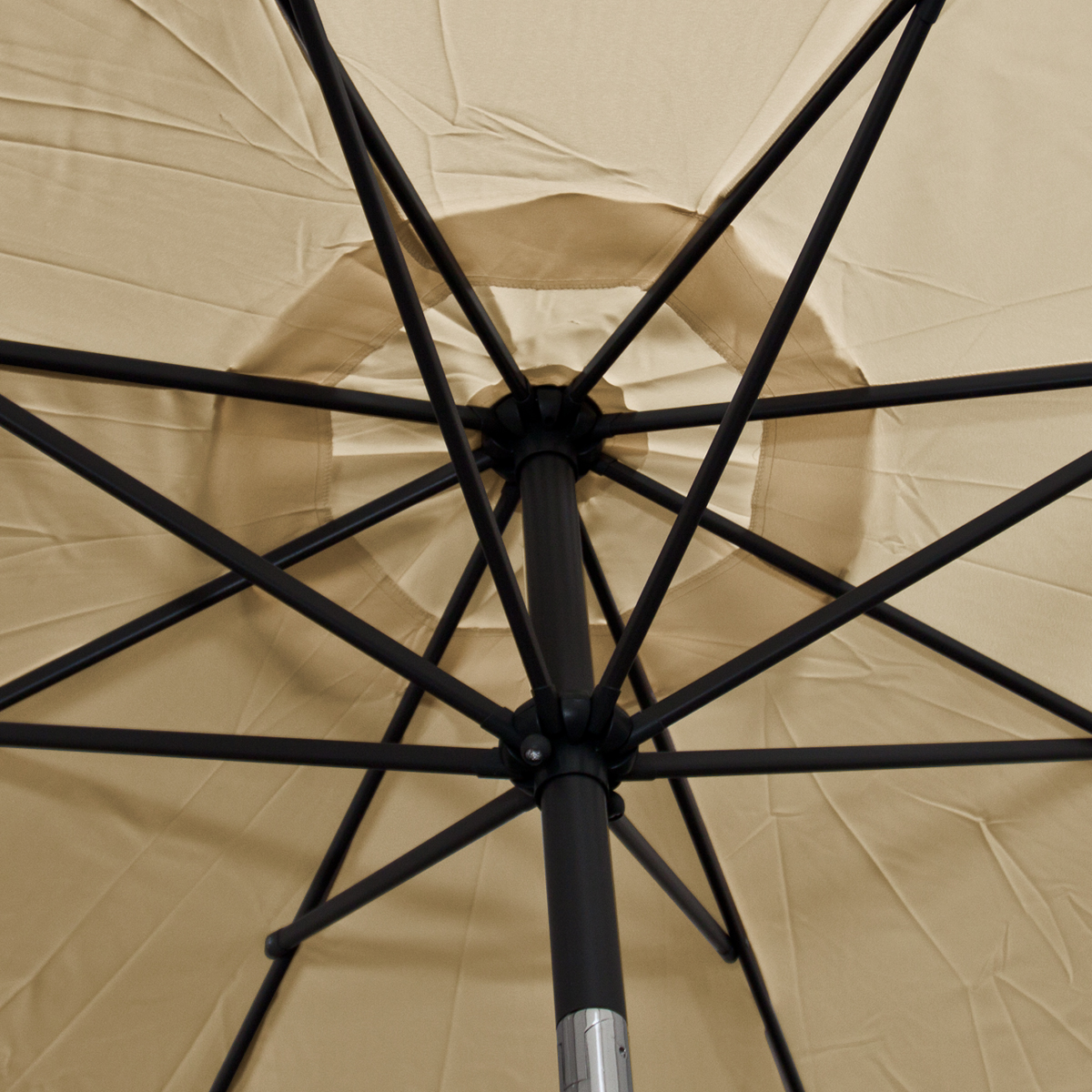 Patio Umbrella Replacement Canopy: Patio Market Outdoor 9 FT 8 Ribs Umbrella Cover Canopy Tan