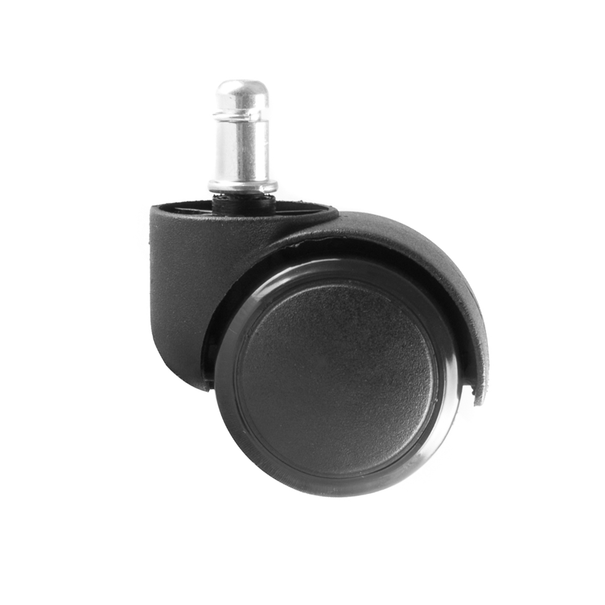 Replacement casters for office chairs black rubber for Office chair casters