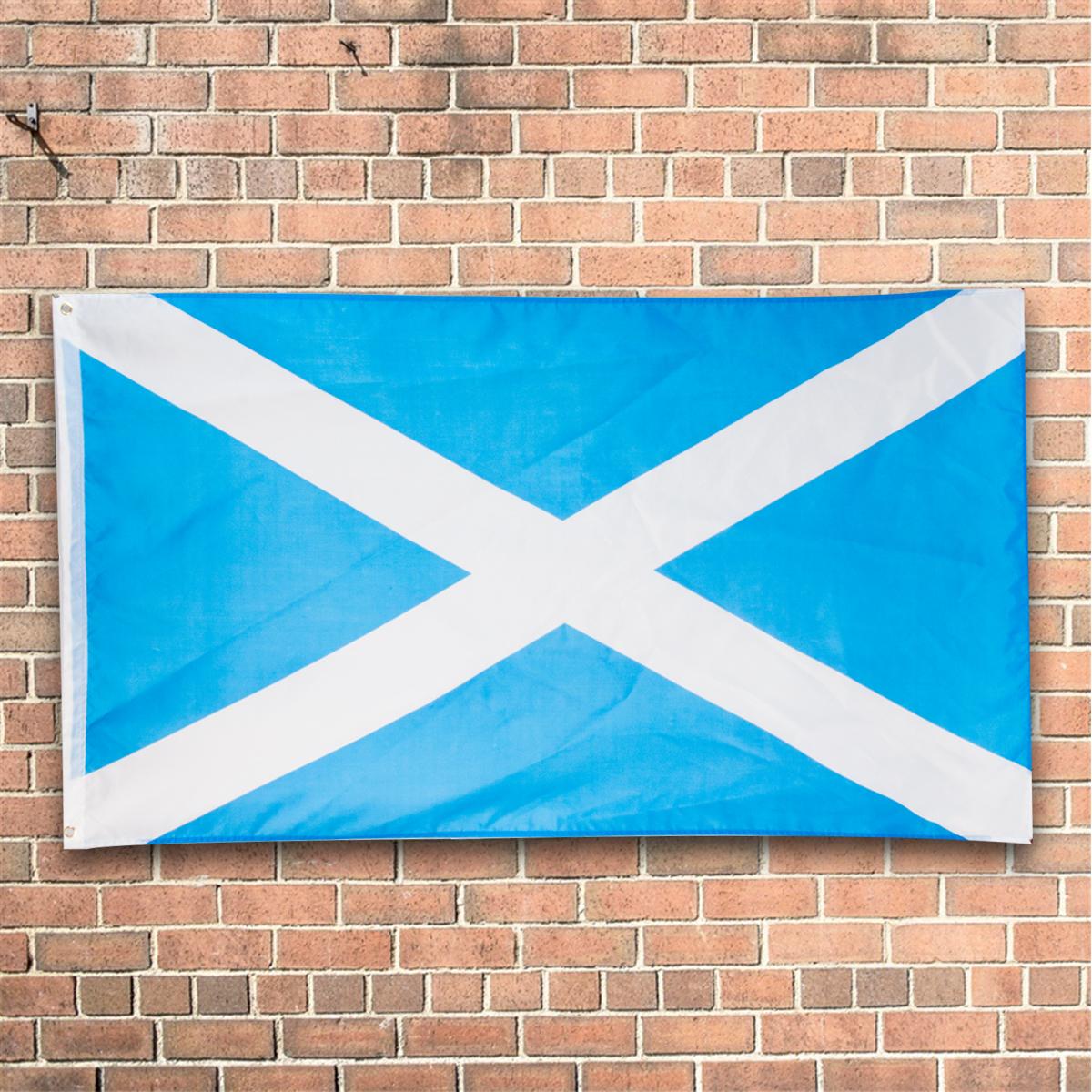 Bonnie scotland flag scottish st andrews saltire cross 3 for Fenetre 90x150