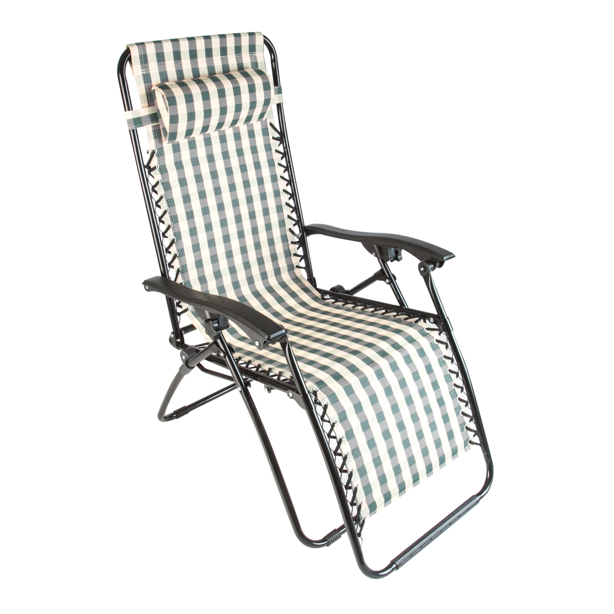 2 Beach Zero Gravity Folding Lounge Chair Recliner Patio Pool Stripe Outdoor New