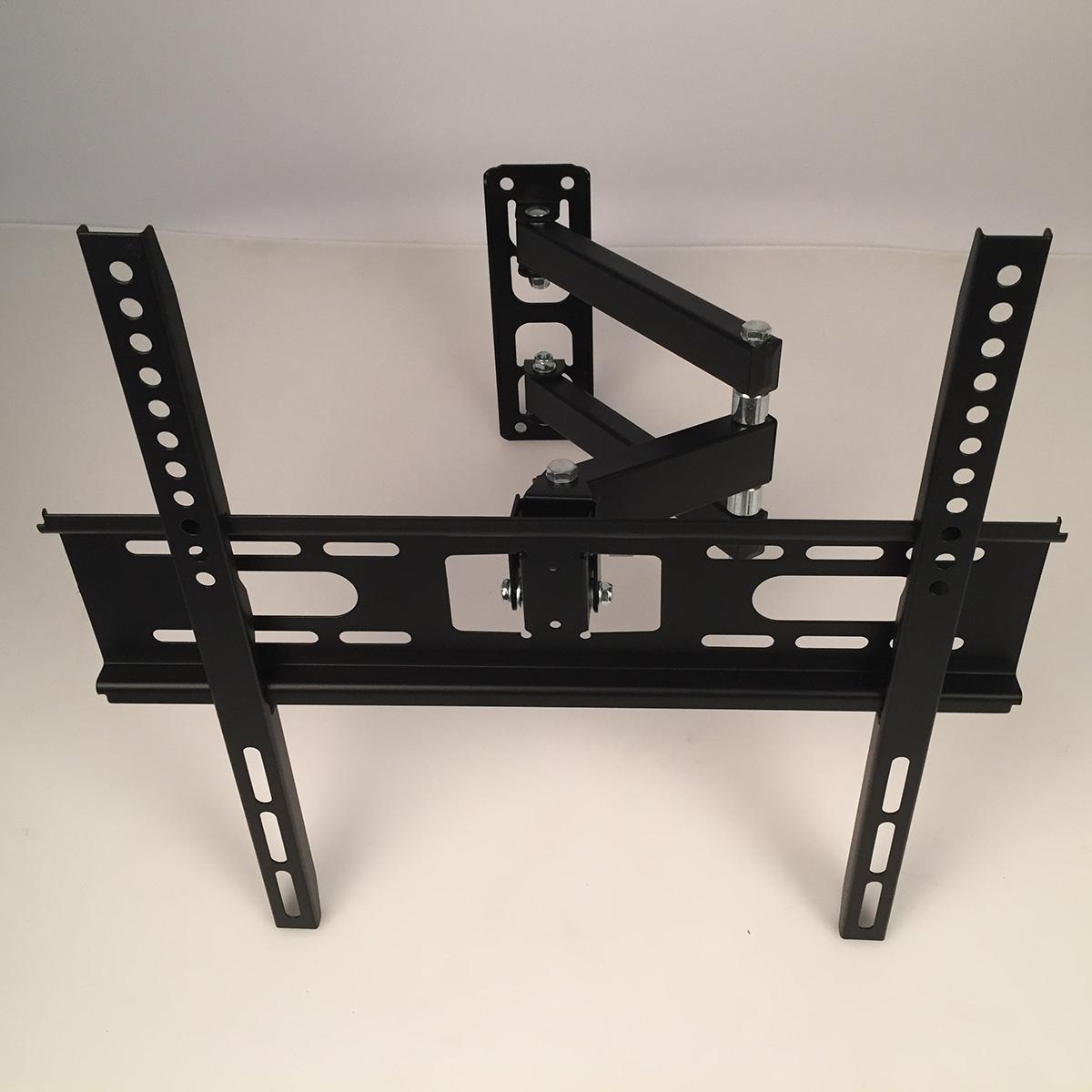 heavy duty lcd led plasma 4k tv wall mount full motion tilt 22 55 swivel arm ebay. Black Bedroom Furniture Sets. Home Design Ideas