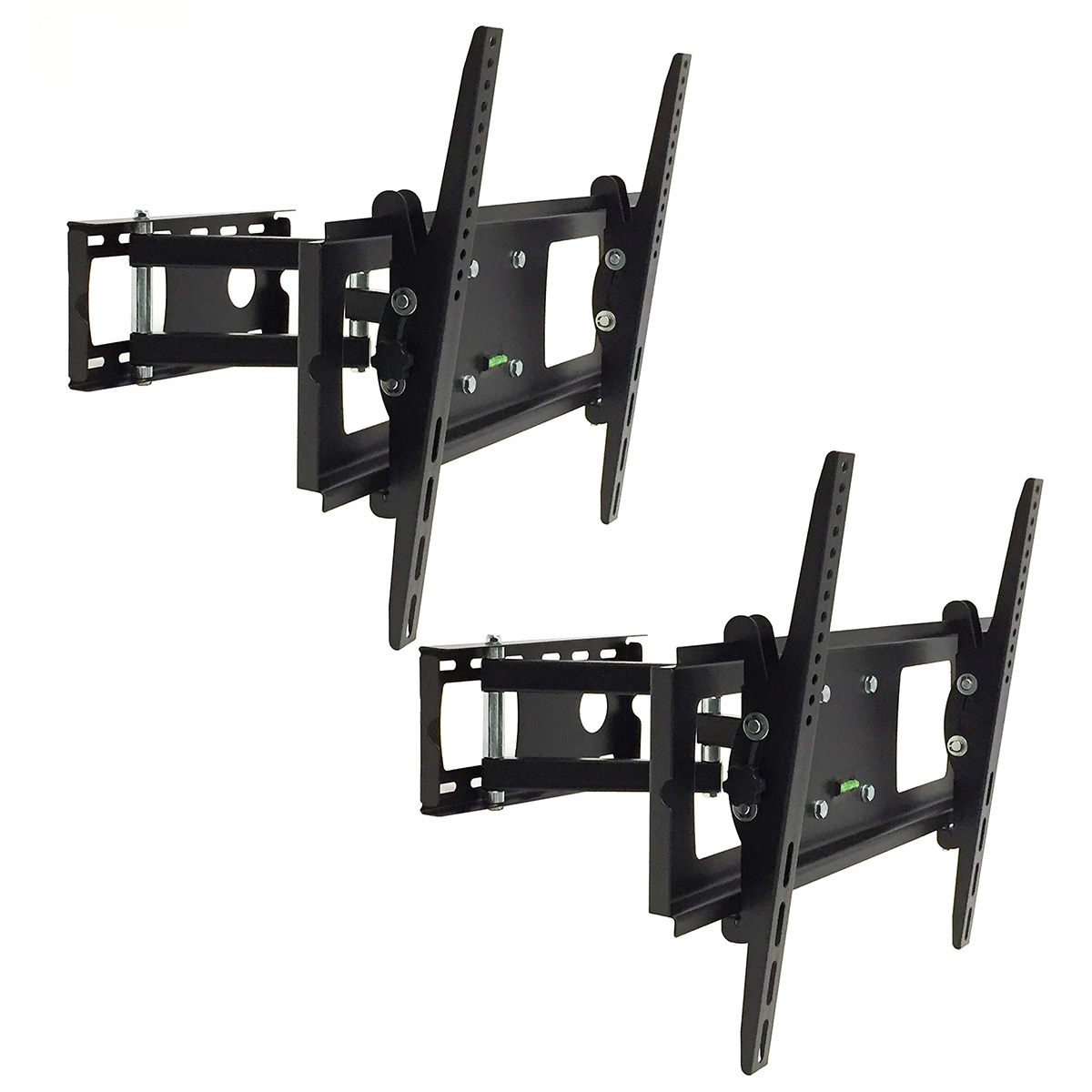 2 Vizio Lcd Led Tv Swivel Wall Mount Bracket Fit 30 37 40