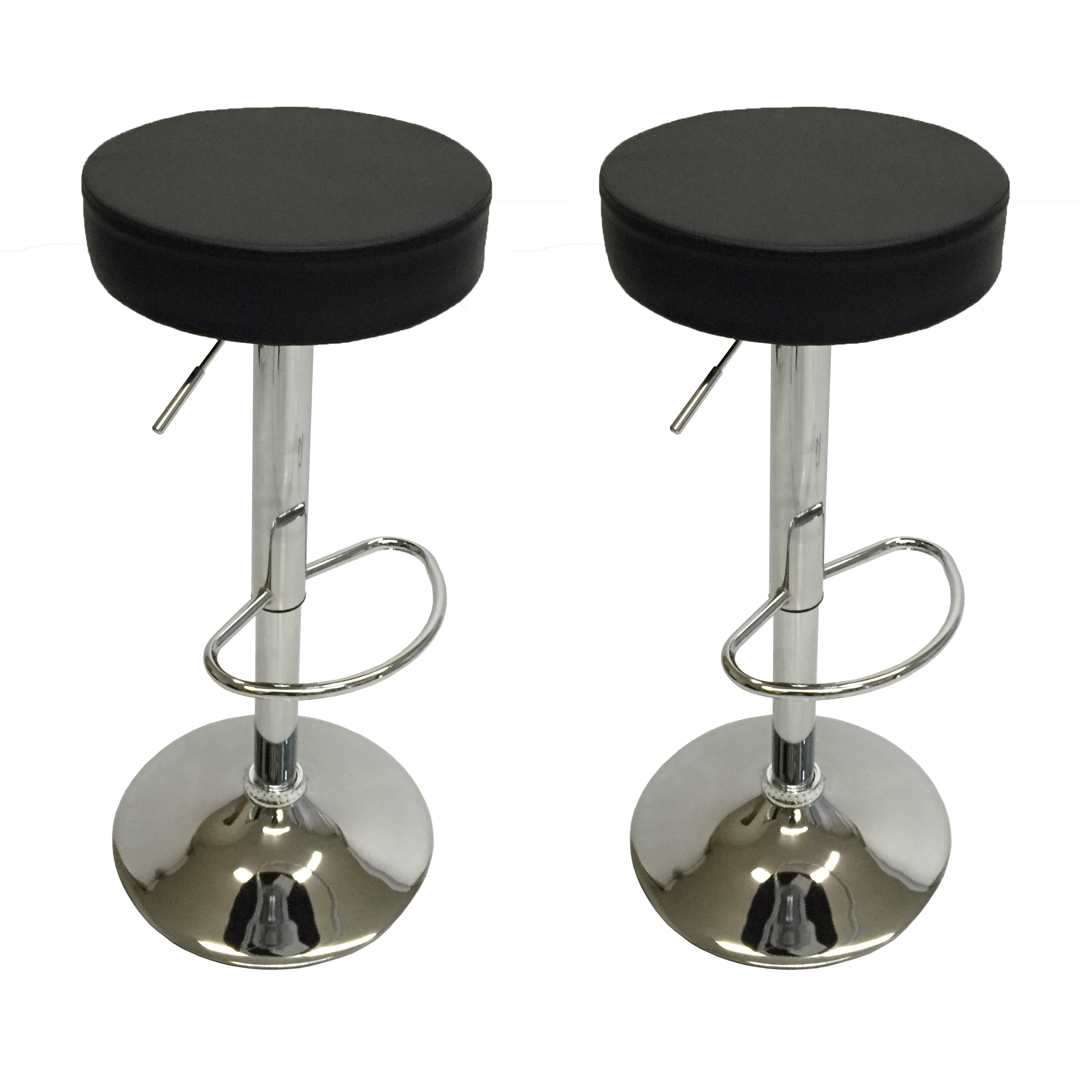 bar stools modern hydraulic swivel dining chair barstools black ebay