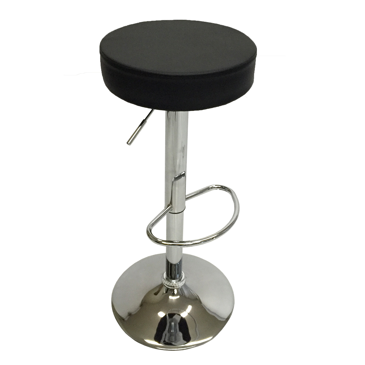 Set Of 4 Bar Stools Modern Swivel Dinning Chair Pair