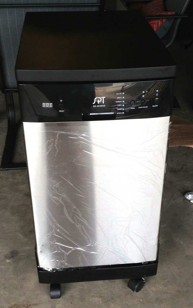 Spt 18 Inch Portable Dishwasher Stainless Steel Ebay