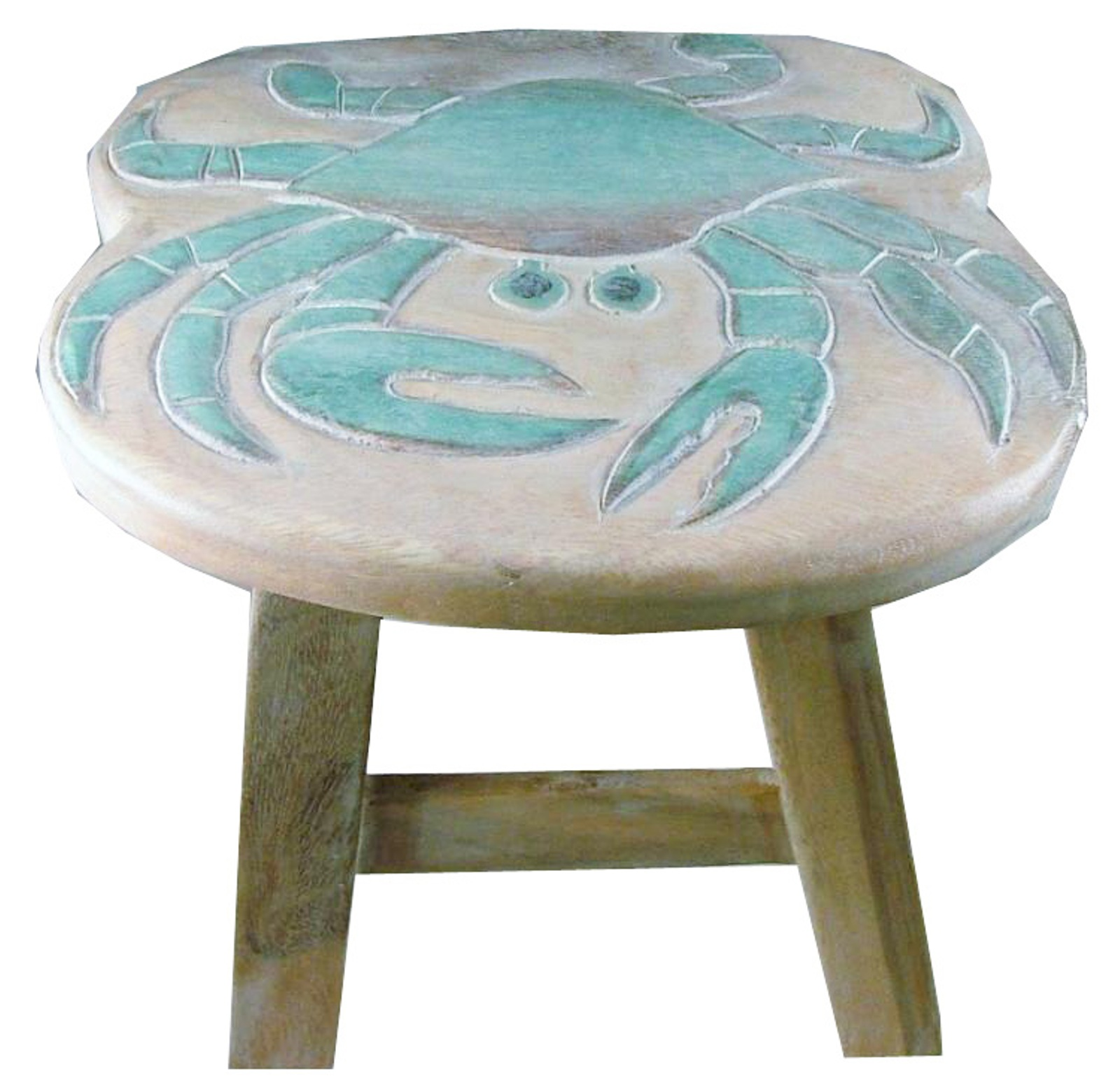 Details about Chesapeake Bay Blue Crab Child Wooden Step Stool