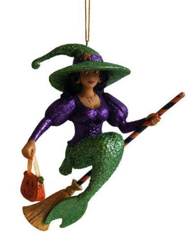 December Diamonds Witch Sabrina Beautiful Mermaid Halloween Holiday Ornament December Diamonds at Sears.com