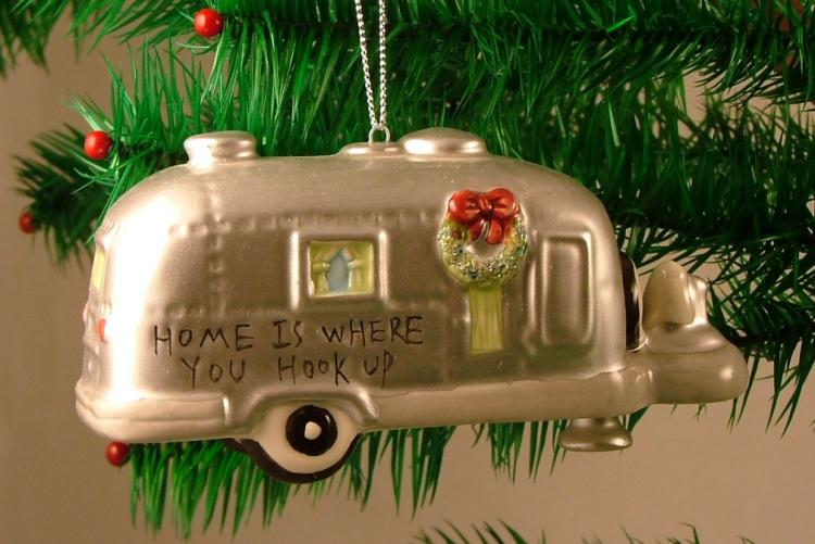 Downeast Concepts Silver RV Camper Trailer Camping Christmas Ornament at Sears.com