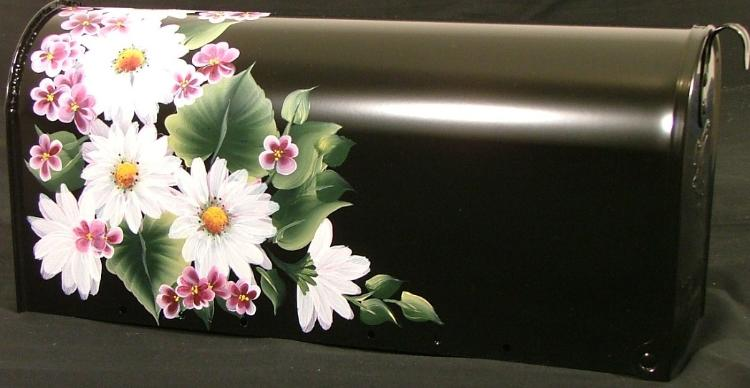 Hand Painted Flower Mailboxes