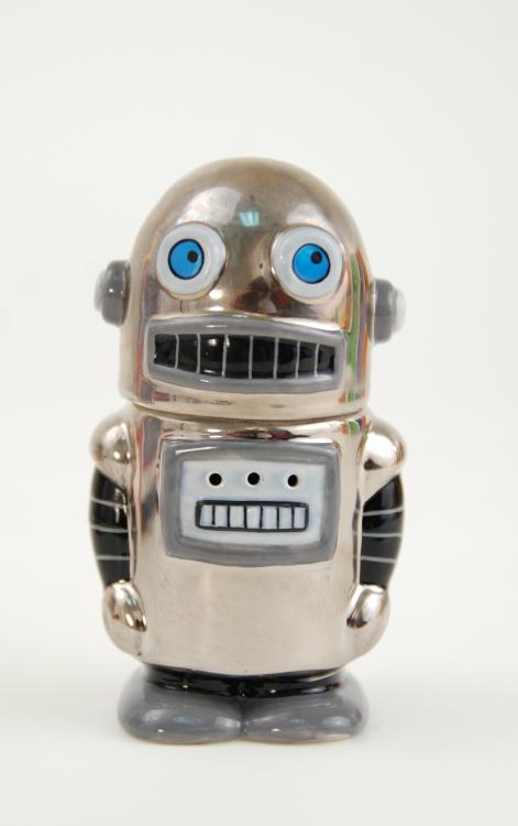 Fun Android Robot Cyborg Salt And Pepper Shakers Ebay