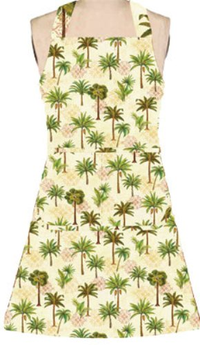 Kay Dee Elegant Tropical Palm Trees Girlie Kitchen Cooking Chef Apron Kay Dee at Sears.com