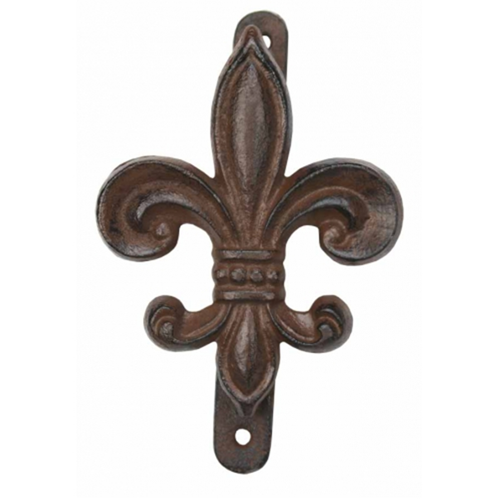 Antiqued Cast Iron Fleur De Lis Doorknocker Ebay