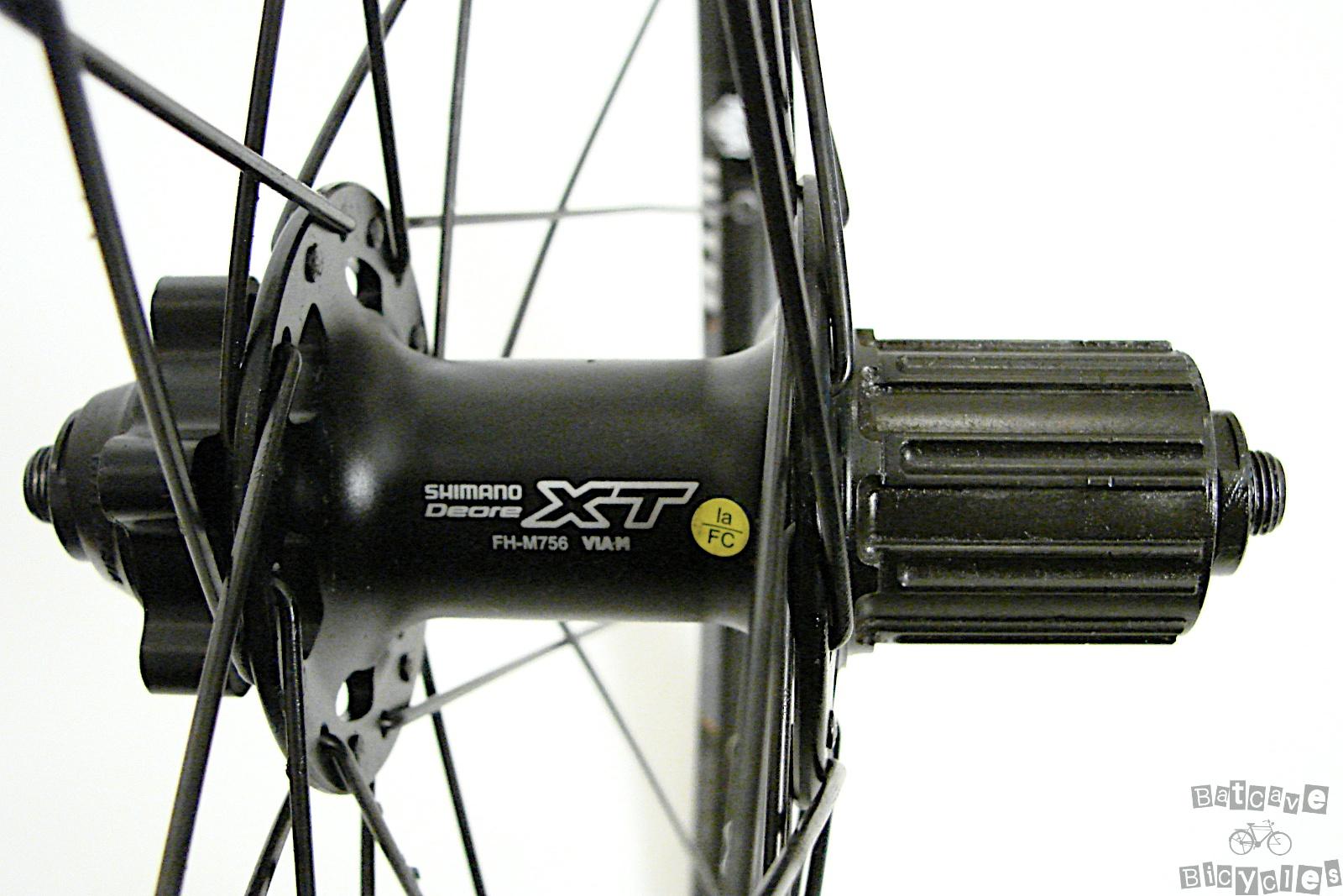 M756 Shimano Deore XT 26 inch 6 Bolt Mountain Bike Wheels | eBay