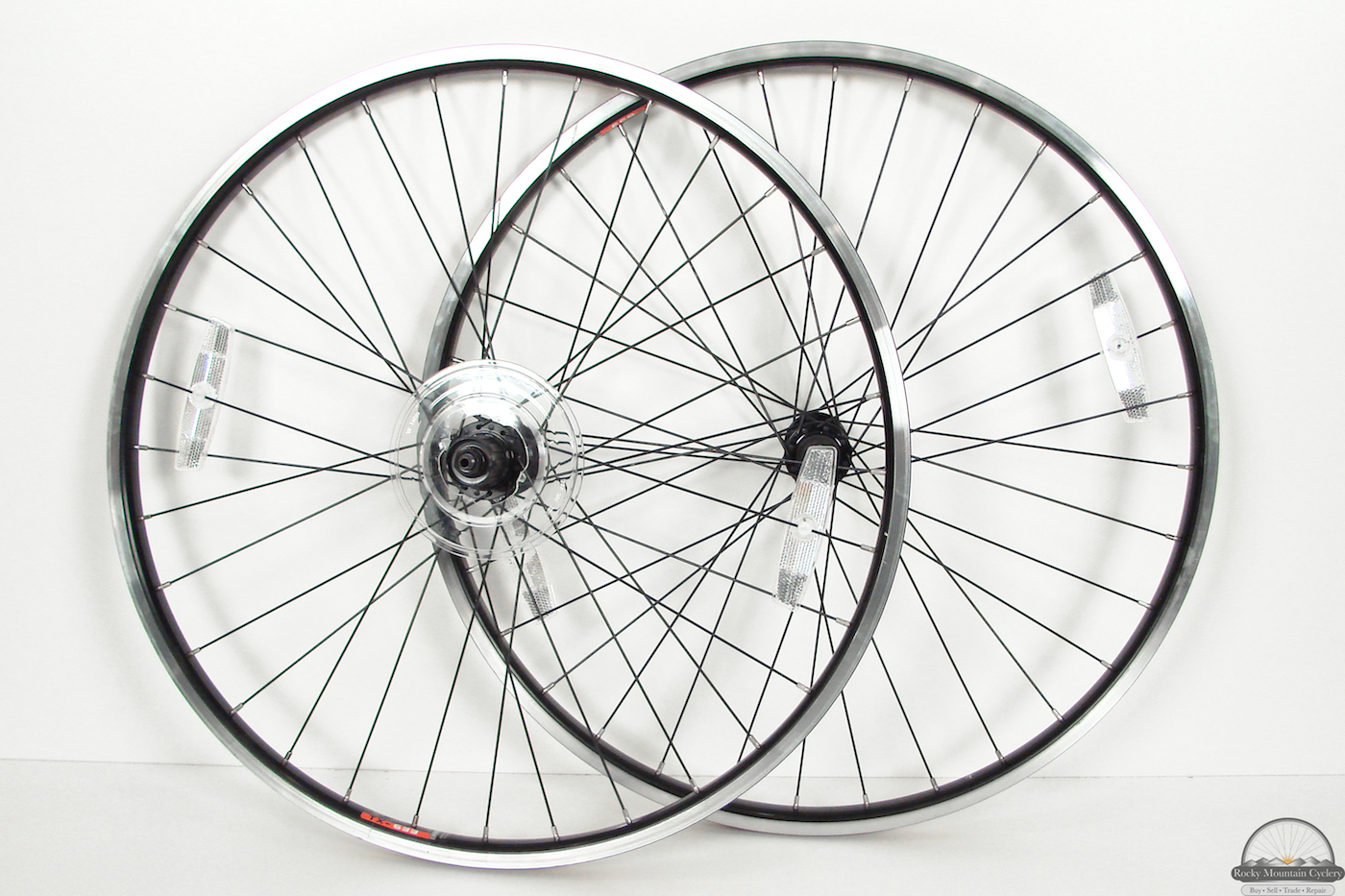 26 Inch Motorcycle Rims : Hole shimano inch mountain bike wheels