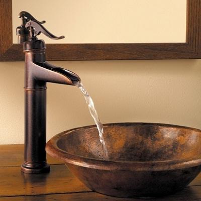 Price Pfister Rustic Bronze Ashfield Vessel Faucet T40yp0u Ebay