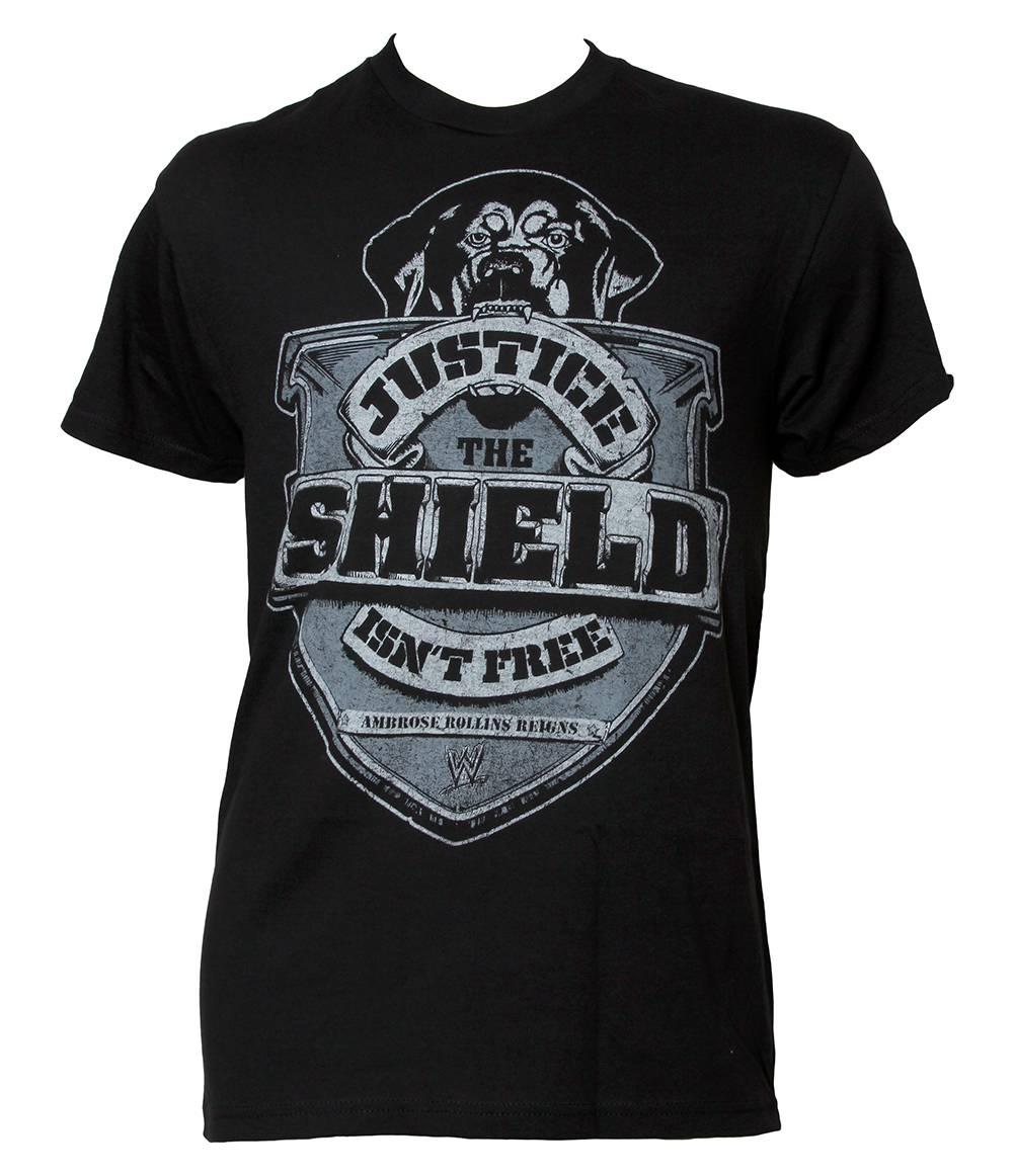 "WWE ""The Shield Isn't Free"" Black Short-Sleeve T-Shirt at Sears.com"