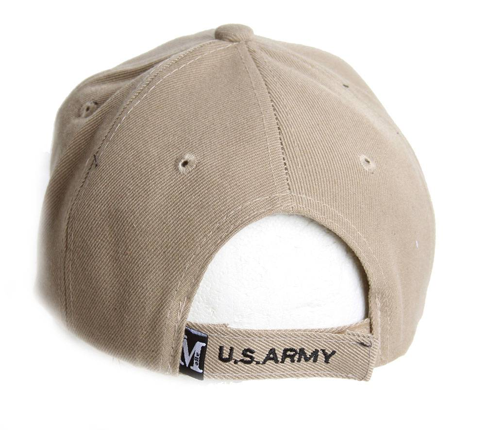 Officially Licensed United States Army Text Adjust Strap Hat