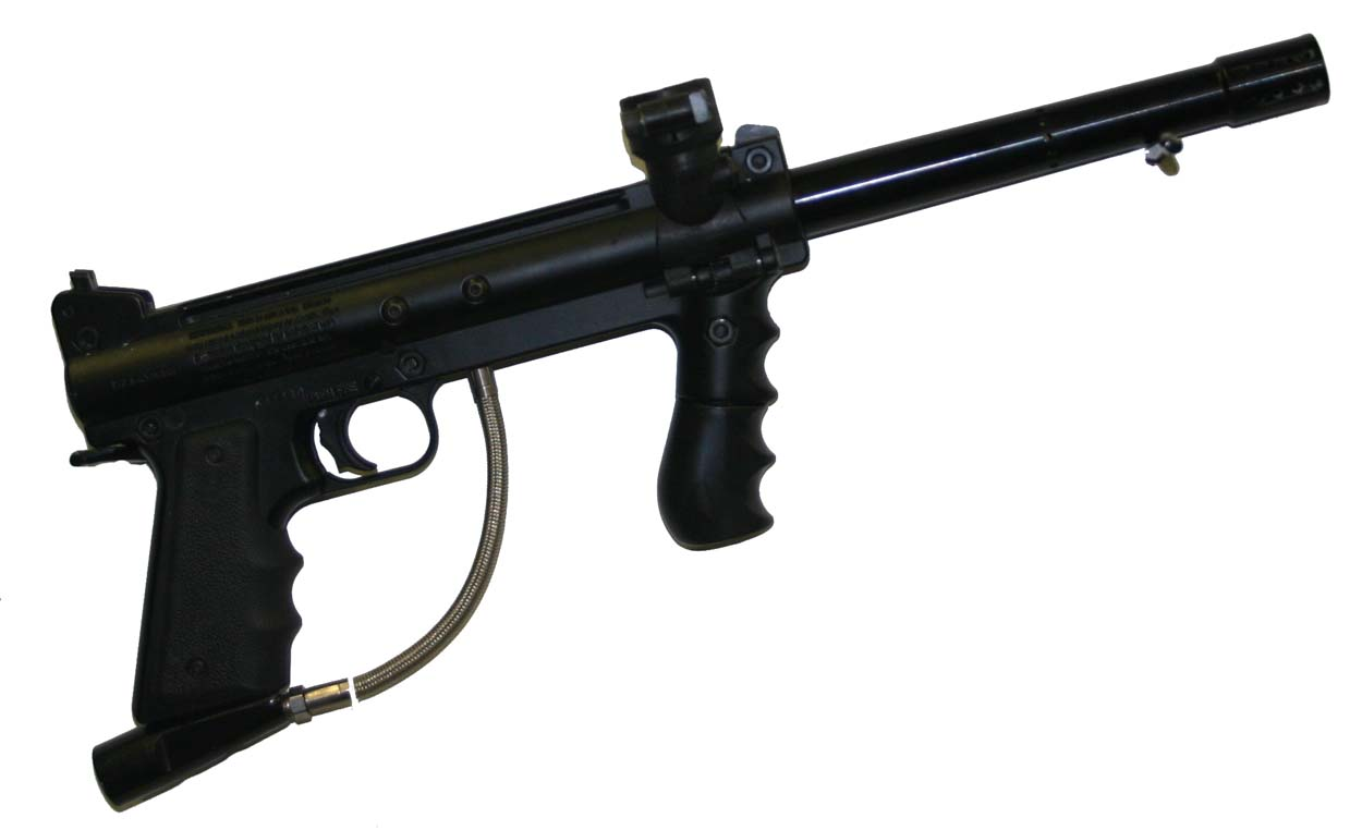 Details about USED - Tippmann 98 Custom Paintball Gun / Marker