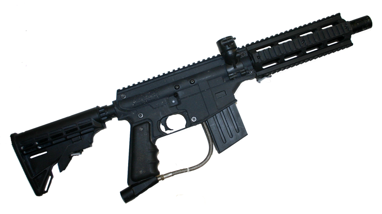 project salvo paintball gun