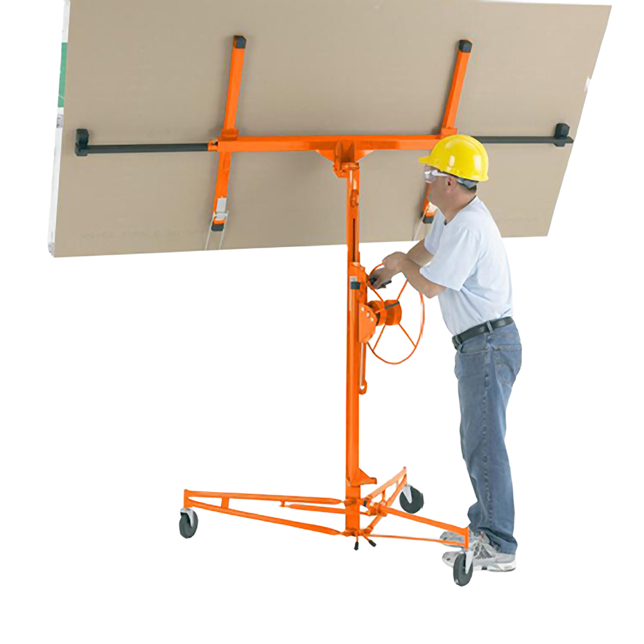 Pentagon Tool Professional 15' Foot Drywall Lift Hoist Wall Panel Lifter For Sheetrock at Sears.com