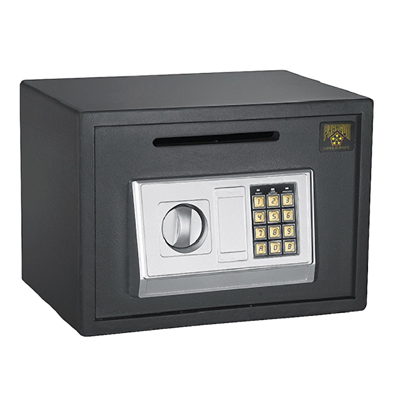 paragon lock safe digital depository safe cash drop safes heavy duty secure ebay. Black Bedroom Furniture Sets. Home Design Ideas
