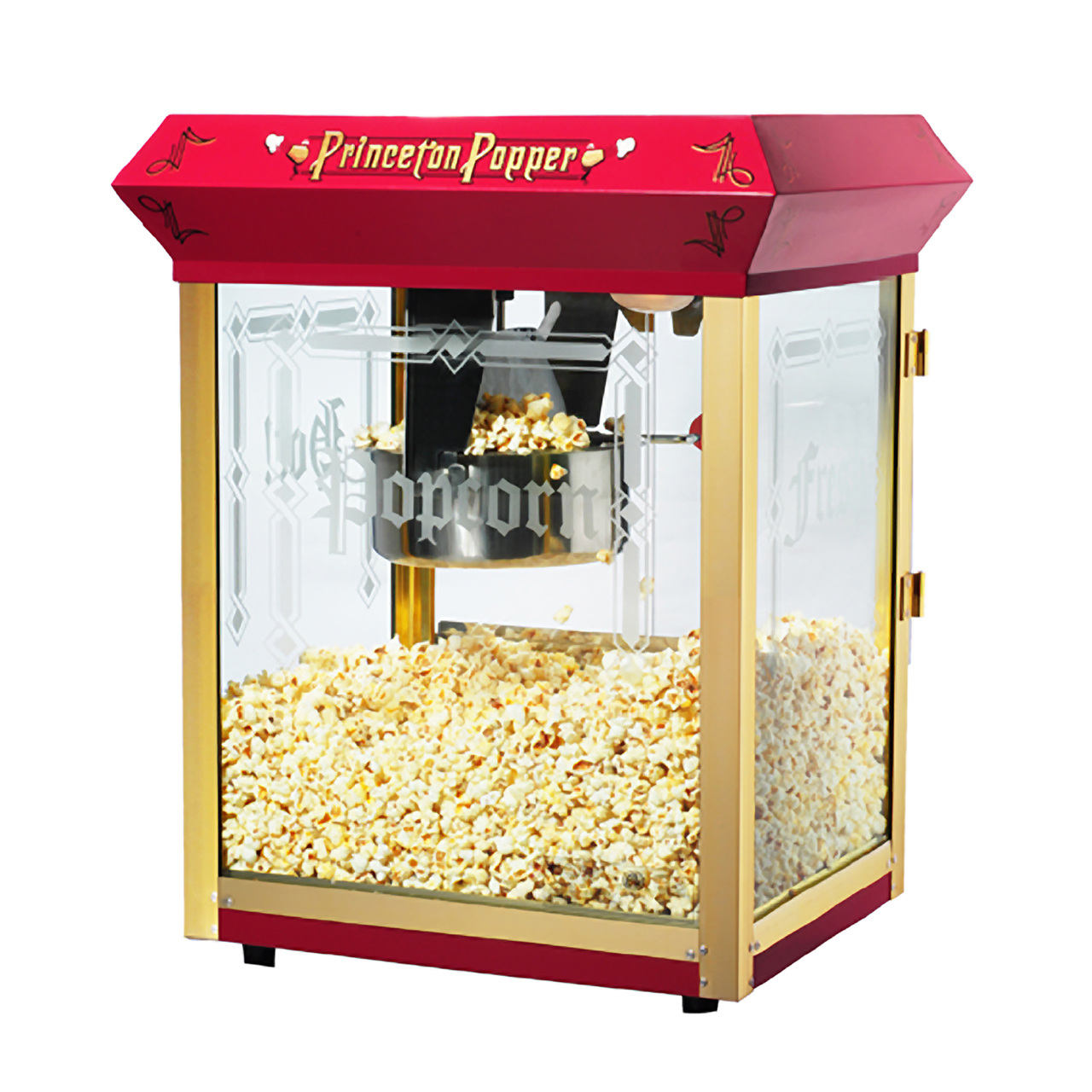 great northern red antique style 8oz popcorn popper machine with cart 8 ounce great northern popcorn