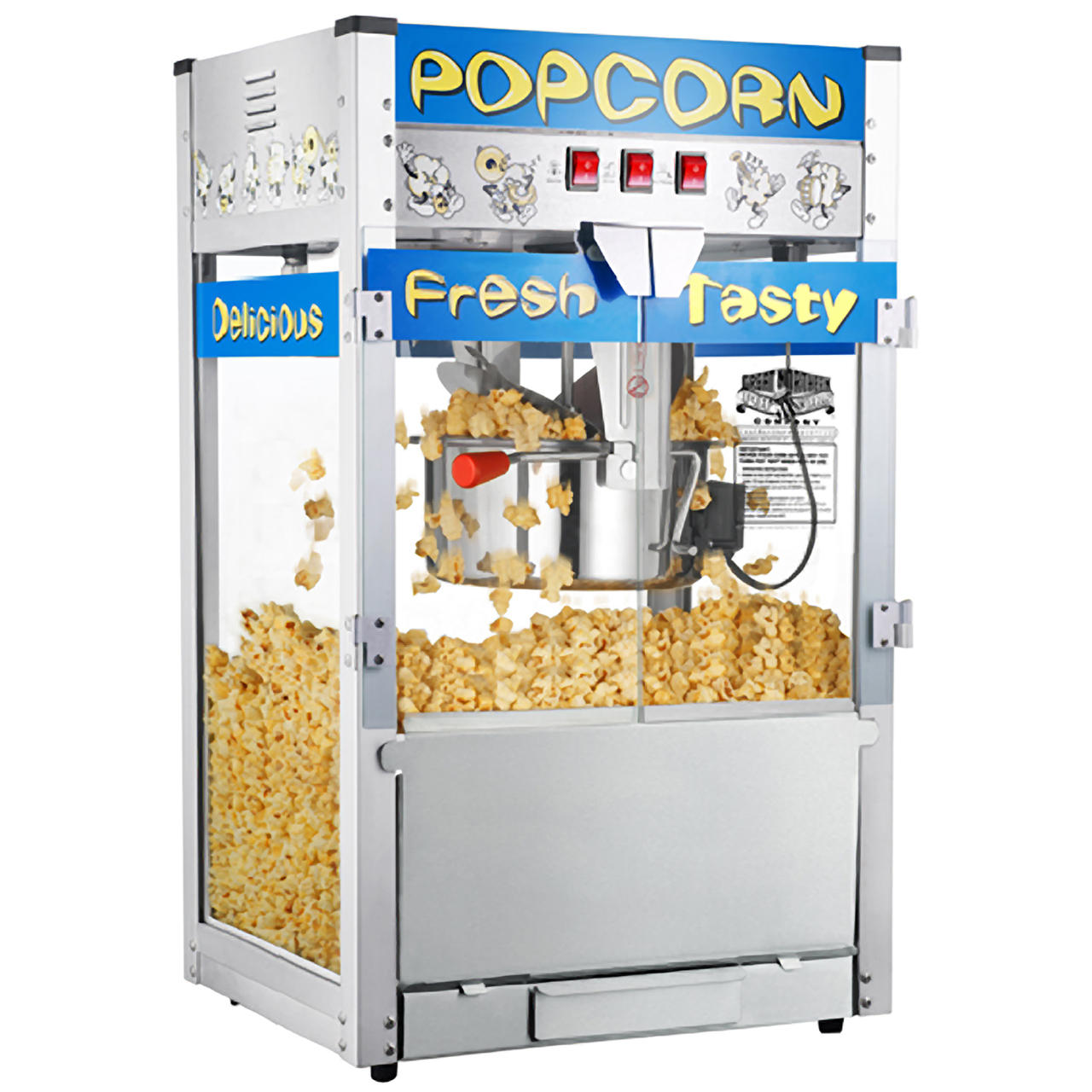 great northern pop heaven commercial quality popcorn popper machine 12 ounce great northern popcorn - Popcorn Makers