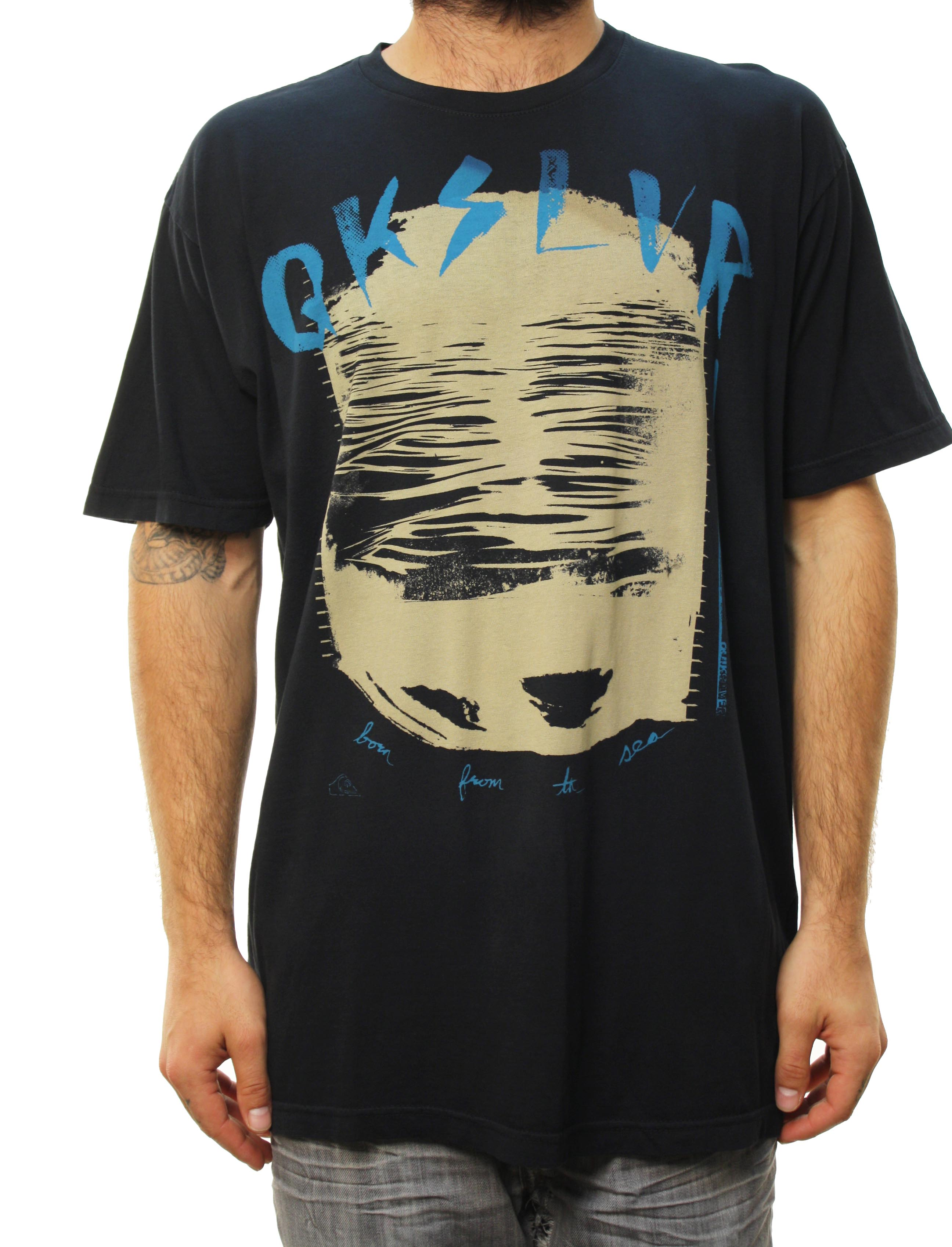 "Quiksilver Men's ""Thirteen Walls-MTZ"" T-Shirt Black 112TZLV6-BLK at Sears.com"