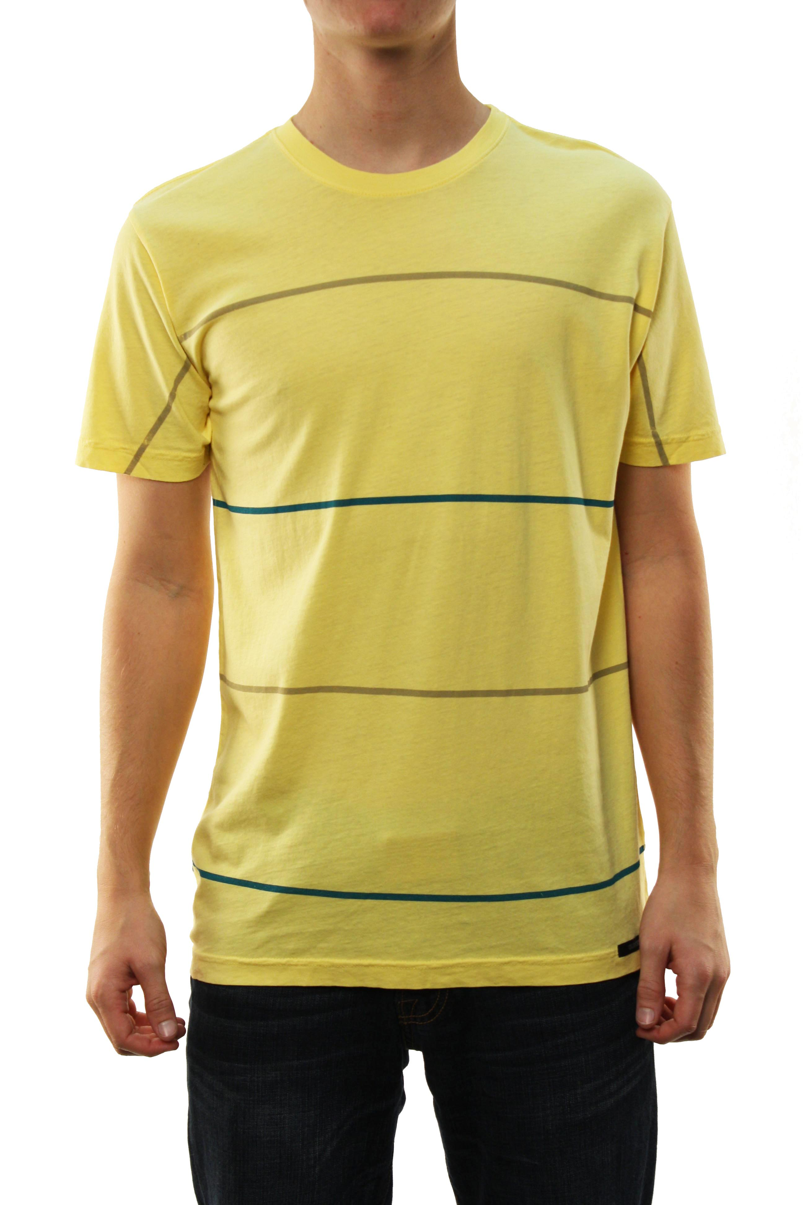 "Quiksilver Men's ""Starbird MTZ"" T-Shirt Yellow 112TZLL3-LYL at Sears.com"