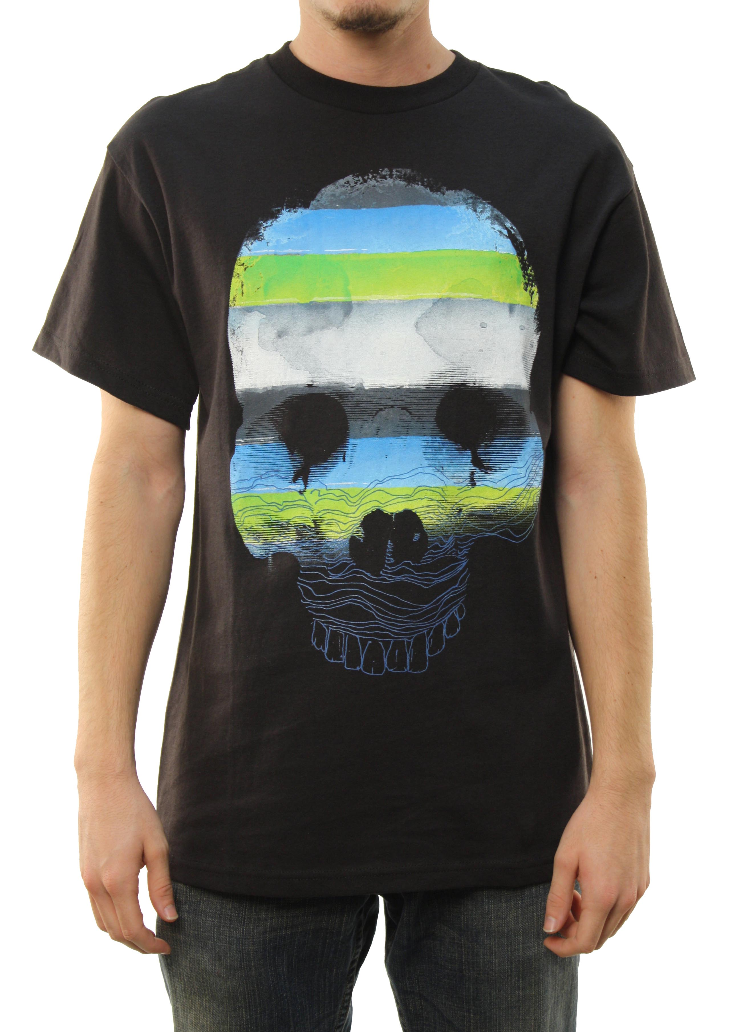 "Quiksilver Men's ""Lose My Cool-MT0"" T-Shirt Black QSYT0LA7-BLK at Sears.com"