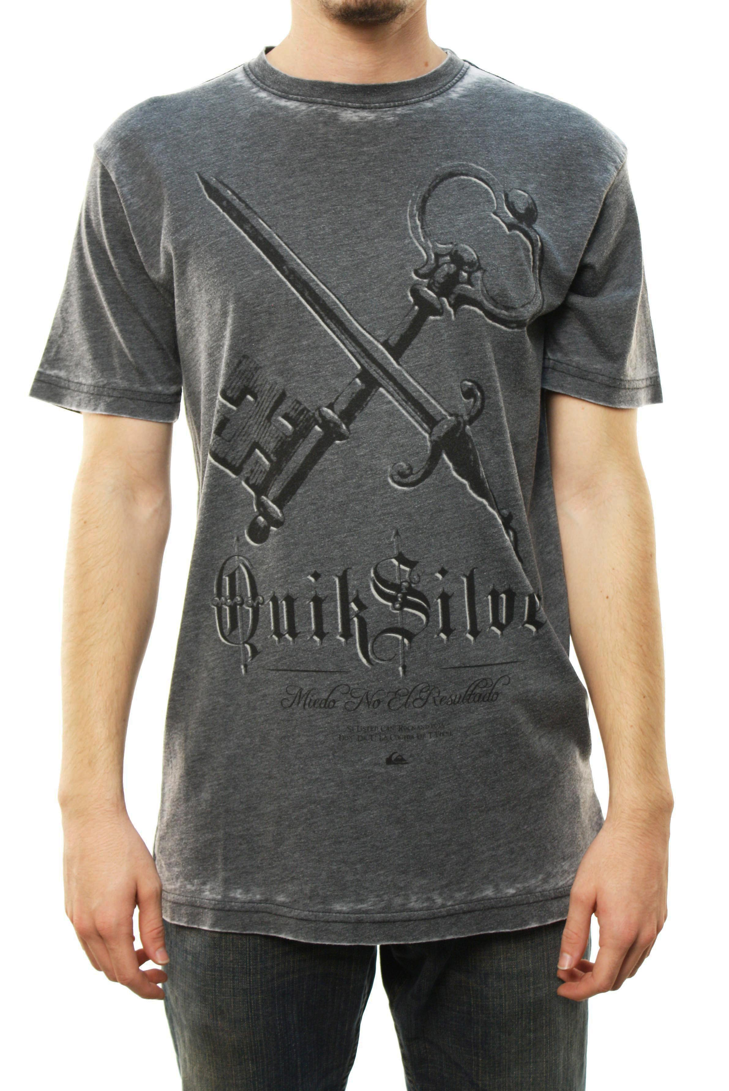 "Quiksilver Men's ""The Key MTZ"" T-Shirt Dark Gray R12TZPC1-DKC at Sears.com"