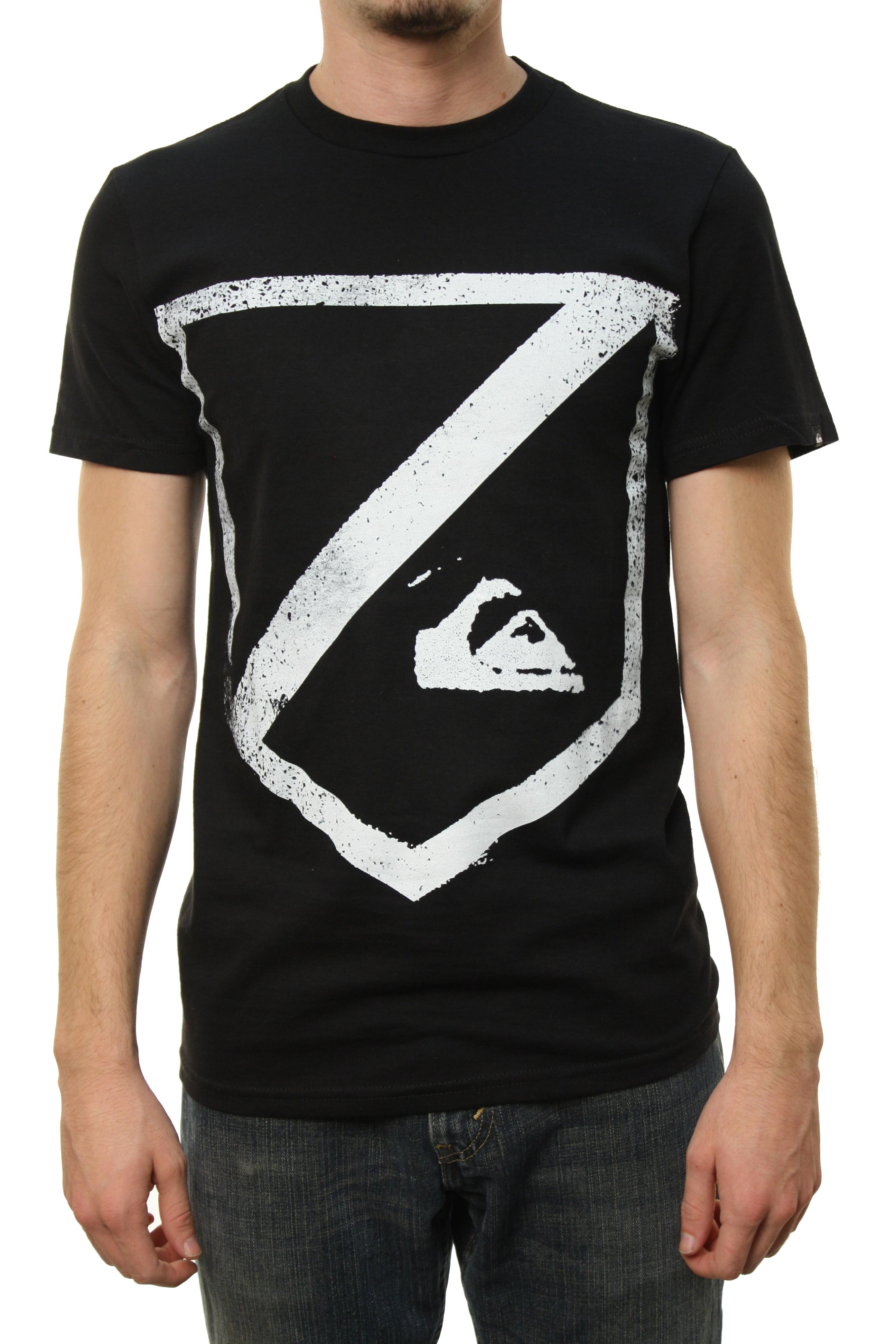 "Quiksilver Men's ""Beverly Kill-MT0"" T-Shirt Black 112T0LT7-BLK at Sears.com"