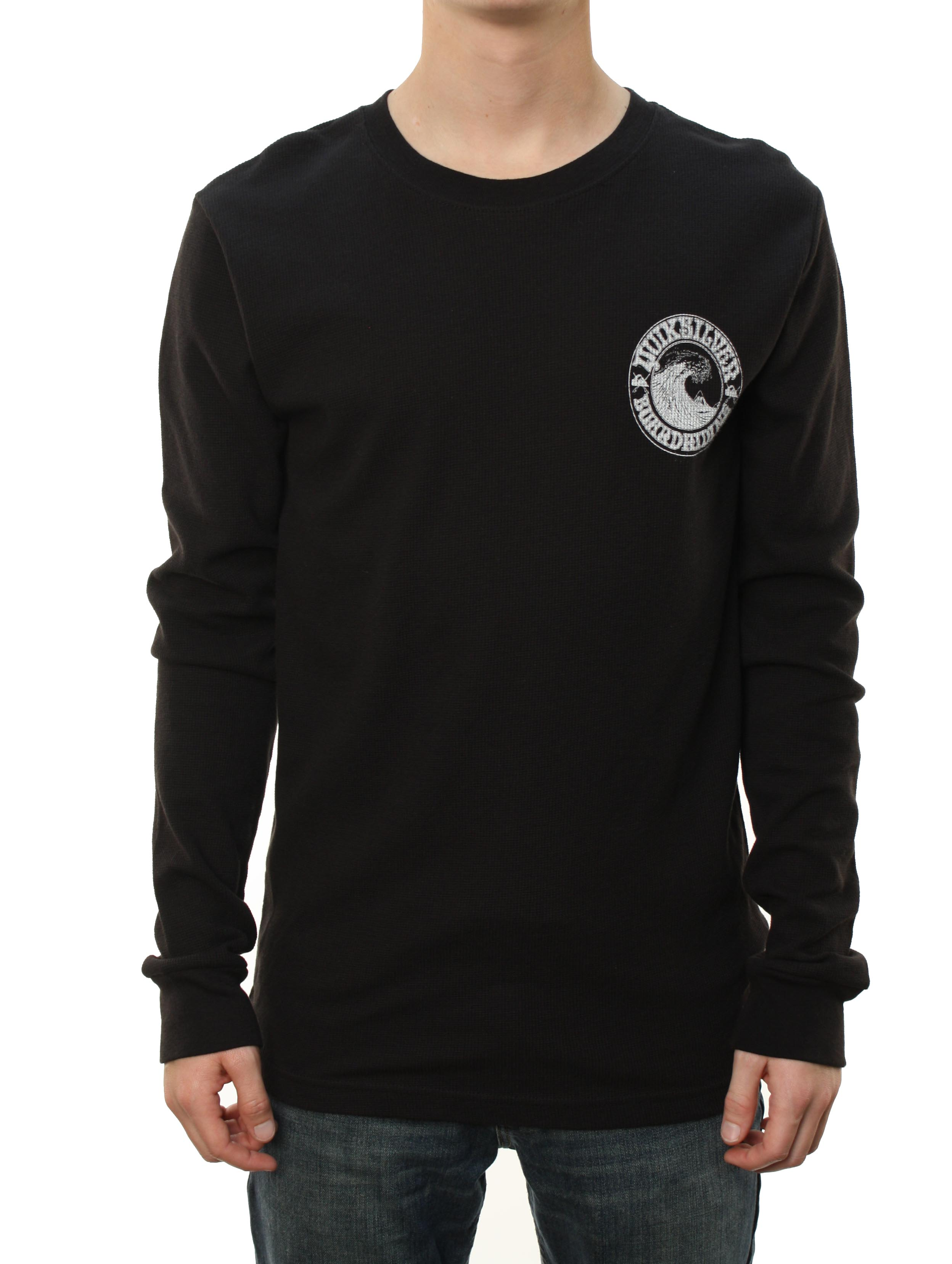 "Quiksilver Men's ""UNDERCURRENT MCR"" Long Sleeve T-Shirt Black at Sears.com"