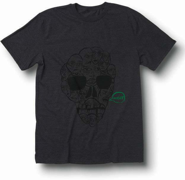 Quiksilver Men's Charcoal Gray T-Shirt Great Minds 112TOPF9-CHH at Sears.com