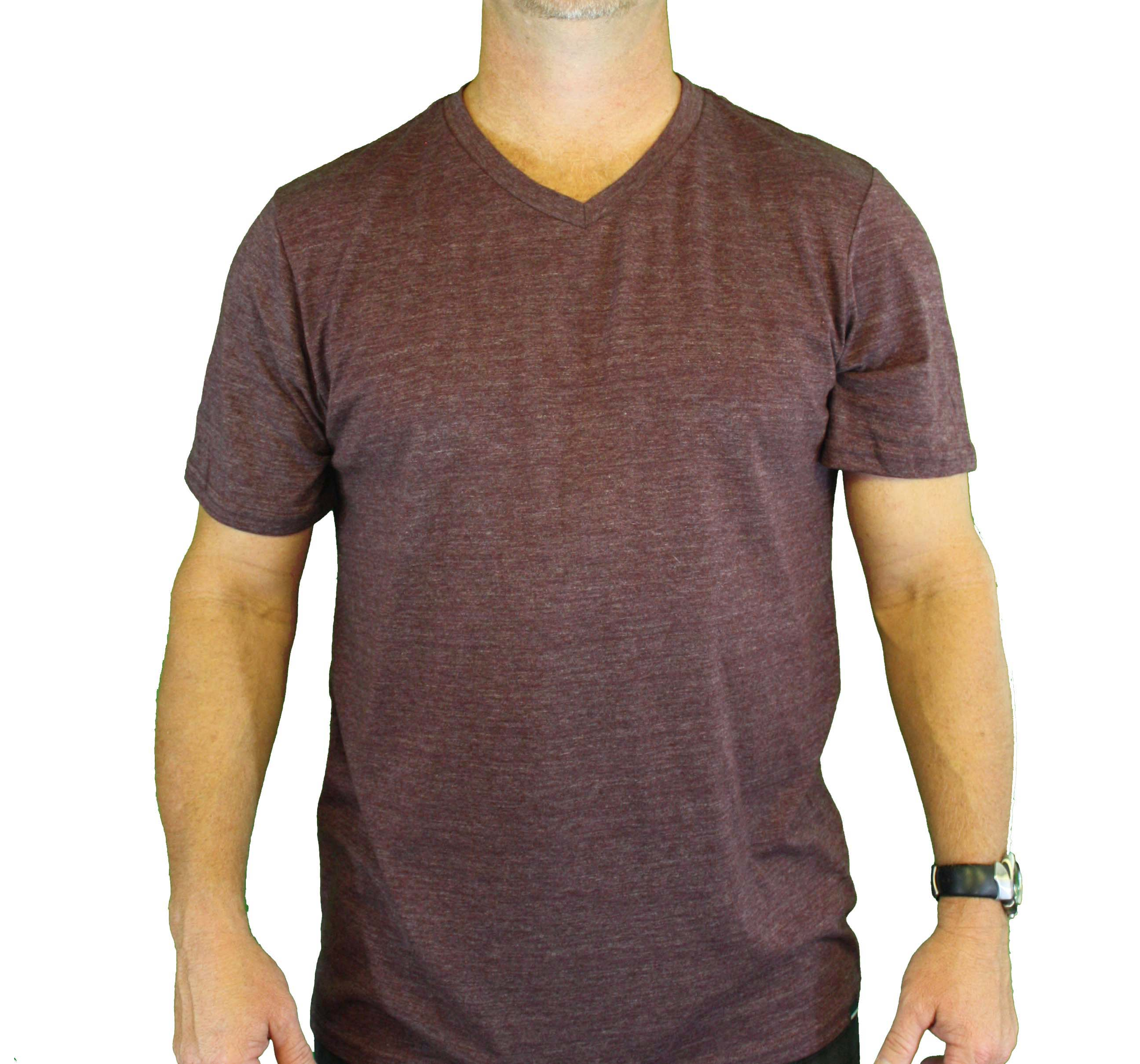 "Quiksilver Men's ""BLNK PREM HTR VNK"" Purple T-Shirt 112H9NY7-WNE at Sears.com"