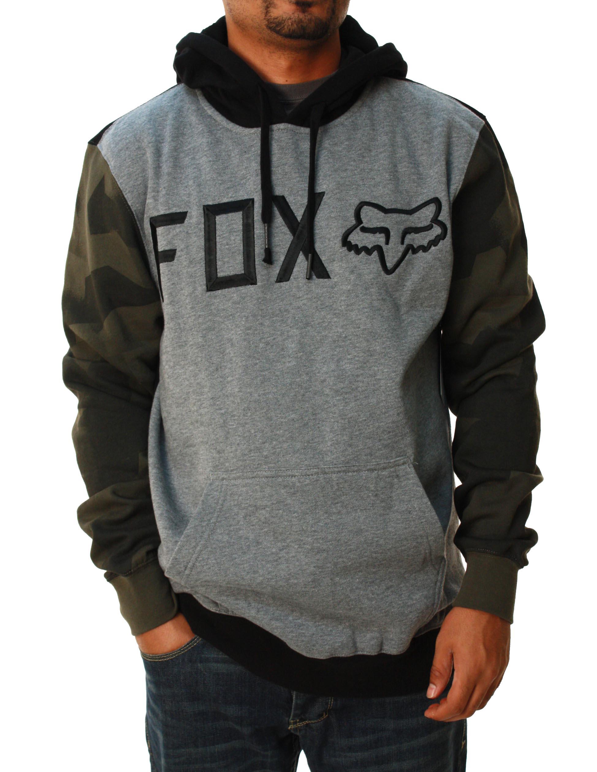 Fox Racing Men's Zephyr Pullover Fleece Long Sleeve Hoodie at Sears.com