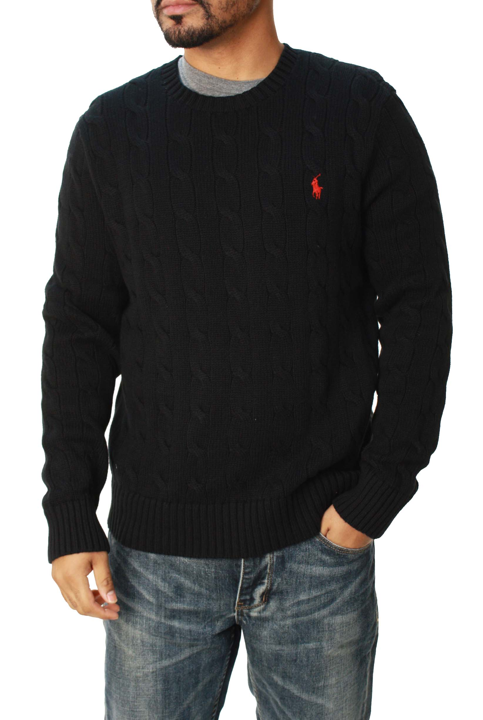 Ralph Lauren Polo  Men's Pullover Cable Knit Sweater at Sears.com